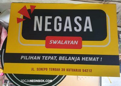 Neonbox Full Akrilik Nagasa