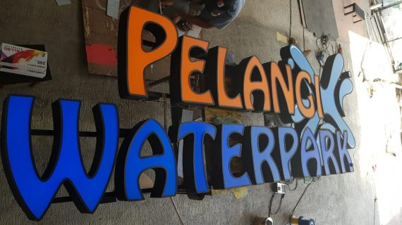 Jasa Pembuatan Huruf Timbul Termurah di Yogyakarta