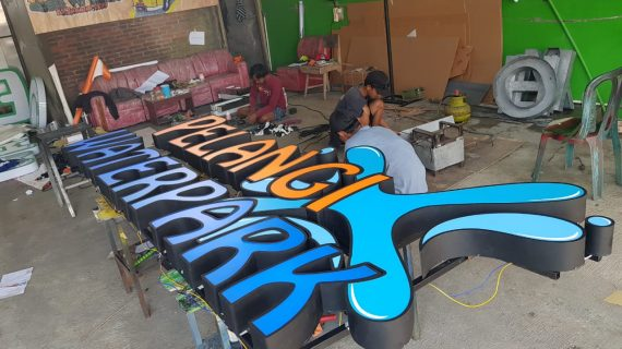Jasa Pembuatan Neon Box Termurah di Kulon Progo